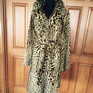 Gorgeous Zandra Rhodes Designer Fur Coat